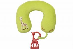Sophie la girafe Travel pillow + Vanilla teether